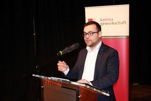 Dimitrios Axourgos, Bürgermeister der Stadt Schwerte (Foto: © komba nrw)