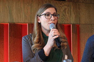 Valentina van Dornick, Landesjugendleiterin der komba jugend nrw